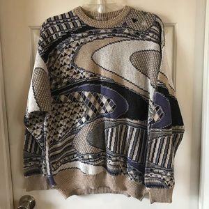 Pronto-Uomo | Men's Vintage Sweater